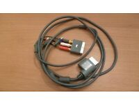 Genuine Official Microsoft XBOX TV Component Video AV Cable