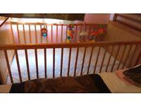 lovely cot / Cot Bed With Mattress And Bedding