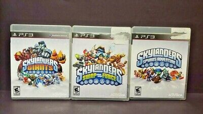Skylanders Giants Swap Force Spyro Adv. Game Lot - PS3 Sony Playstation 3 Tested for sale  Shipping to Nigeria