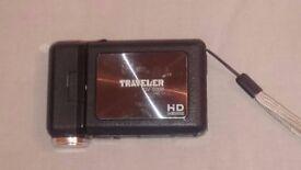 Traveler DV-5000 HD video camera with 2GB SD Card