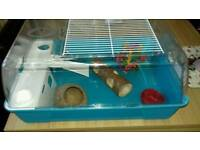 Hamster cage excellant condition