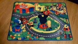 Mickey Mouse Clubhouse play mat and cars