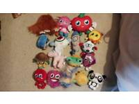 Moshi monster soft toys