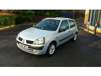 Renault clio 1.2 low milage only 37k! 1 previous lady owner perfect 1st car