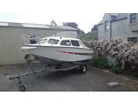 16ft crusier leisure fishing boat