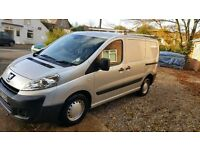 Silver Peugeot Expert 07 Van full service history, very low mileage, roof rack and towbar