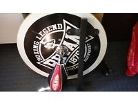 USED Bryan Speed ball Speedball Bag Boxing with mount inc gloves unworn