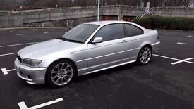 2004 '54 Plate BMW M Sport 320cd / Silver