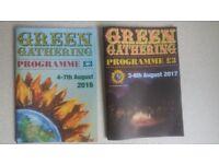 Free! Green Gathering Festival Memorabilia