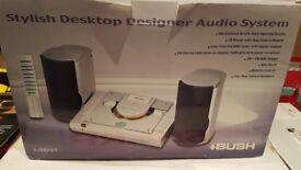 Bush Stylish Desktop Designer Audio System