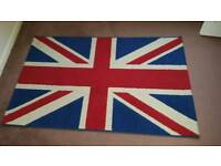 Union Jack Rug and lampshade