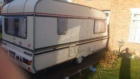 Elddis shamal gt 5 berth caravan