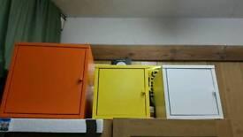 3 x Ikea Lixhult cabinet (metal box)