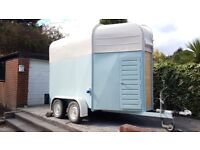 Converted Rice Horse box Horsebox Catering Trailer Mobile Bar Gin Prosecco Pizza Business