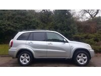 TOYOTA RAV4 AUTOMATIC, 55 REG, 66K MILES ENGINE, MOT, HPI CLEAR, DRIVES MINT, DELIVERY AVAILABLE