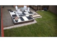Patios including marble patios and all aspect of garden makeovers