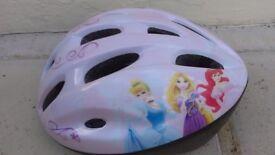 Disney princess helmet - safety for heelies, scooters, bikes, roller skates. Size S
