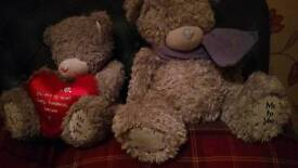 2 large me to you bears