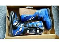 Oxtar Motorcross Boots Size 8