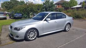 Immaculate BMW 530D M Sport with rare manual 6 speed gearbox and genuine low mileage