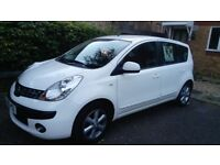 Nissan Note SE Auto 1.6L White - Very Low Mileage /Smooth Runner