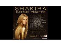 Shakira Concert Tickets on 25 Nov 17, Barcelona