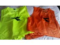 Diadora football training bibs