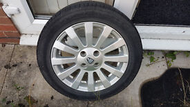 Rover 25 Spare Alloy Wheel with Tyre