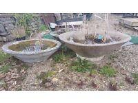 Circular Garden Troughs (Water Feature/Planters