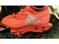 Adidas sock boots and adidas astro trainers