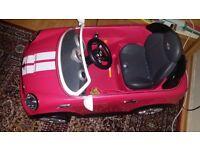 Girls Sweet Pink Electric Car