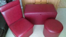 PLAY ROOM/ BEDROOM FURNITURE GREAT CONDITION 3 PIECES