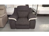 New ScS Sisi Italia Matteo Fabric Armchair (2 Available) **CAN DELIVER**