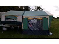 Folding camper 2004 Conway Countryman