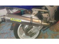 Suzuki gsxr 600 k3 full arrow exhaust system