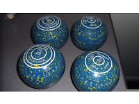 Set of Victor VS size 2 indoor bowls
