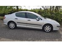 PEUGEOT 407 1.6 HDi 110 S 4dr 1 Yr's Mot & Serviced Fully Warranted A Nice Clean Car (silver) 2006