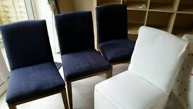 Free x4 dining chairs