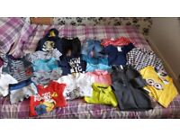 Boys clothing bundle very good condition and includes new items