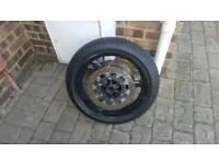 Yamaha r6 wheels 5eb