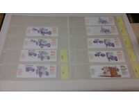 GB Stamp Booklets 168 pieces in mint condition list attached