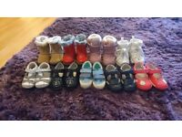 Infant shoes/boots. Mostly clarks, some next and H&m. 2.5 and 3