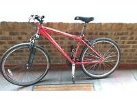 "Pinnacle Source Mountain Bike 19"" frame [ medium size 5""6 - 5""10 ] in full working order"