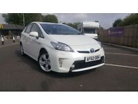 TOYOTA PRIUS T SPIRIT ONE OWNER FULL SERVICE HISTORY REVERSE CAMERA NAVIGATION BLUTOOTH UK MODEL