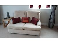 1 two seater settee and 1 three seater settee in excellent condition.