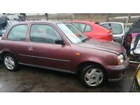 Nissan micra 2002 breaking for parts