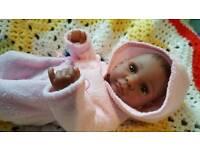 "11"" ETHNIC BABY DOLL"