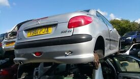 PEUGEOT 206 CC 2001- FOR PARTS ONLY