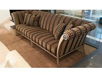 Stunning Contemporary sofa By Silver Lining RRP £9,000