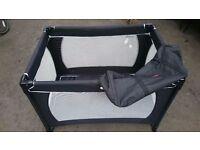 Redkite baby/infant travel cot.